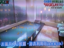 ★TV朝日スーパーJチャンネルでも紹介された季節ごとに変わる大浴場