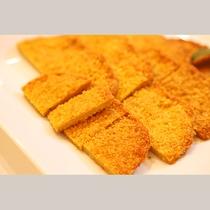 フィッシュカツ(朝食)