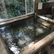 【露天風呂】木々に囲まれたお風呂でゆったり入浴&森林浴を♪