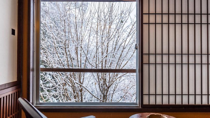 冬のある日~客室より~