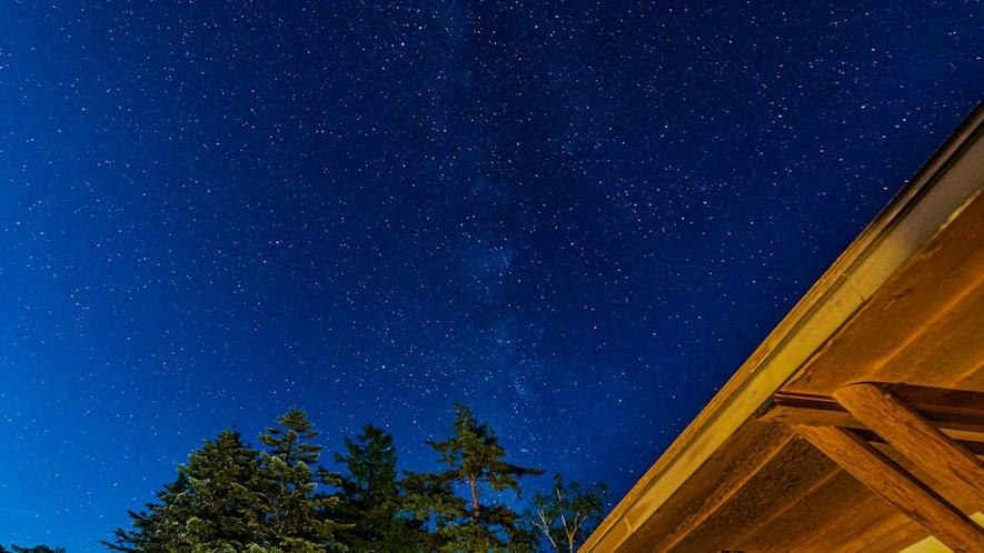 七夕に見える夜空を楽しんで♪