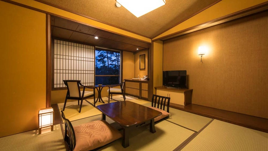 和室8畳『野いちご』コンパクトな客室です。
