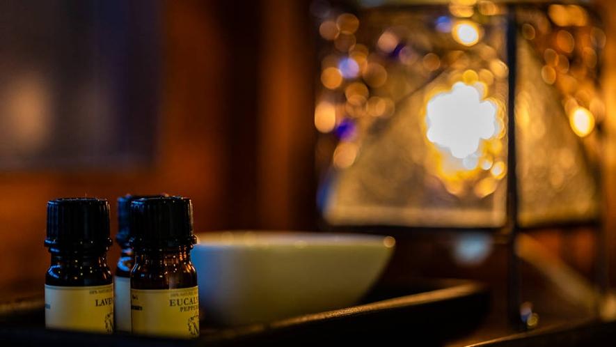 露天風呂付客室『くろゆり』アロマの香りで癒しのひとときを。