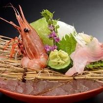 和食会席膳の定番 スタンダードプランの御造り(イメージ)