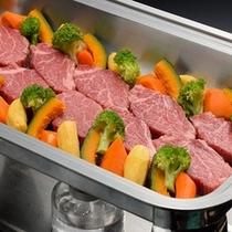 【宴会用追加料理】 <山形牛ステーキビュッフェ> 頑張ったご褒美に!明日からの活力に変るでしょう