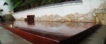 総檜漆塗り露天風呂(女湯)
