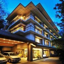 鎌先温泉の高台に佇む木村屋旅館