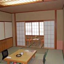 リーズナブルな白萩荘(旧館)一例
