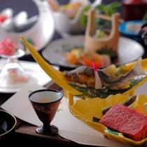 お料理の一例(夏会席料理)竹