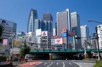 新宿西口 風景