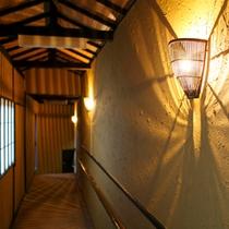 【大浴場への廊下】