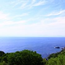 【恋人岬からの景色】