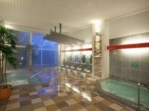 清潔感漂うリニューアル小浴場(朝夜、男女入れ替え)