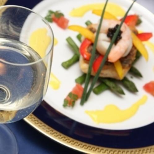 ワインと魚