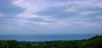広大な海の景色
