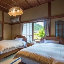一水寝室ベッド