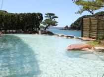 露天風呂|紀州潮聞之湯/打ち寄せる波の音を聞きながら温泉を満喫!