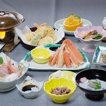 季節の会席料理(一例)