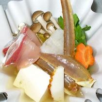 お食事一例(冬の小鍋)