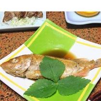 日本海の新鮮な魚