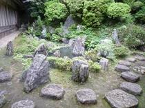 奥書院の庭園