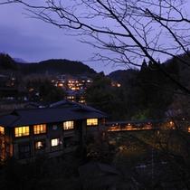 黒川温泉の夜景