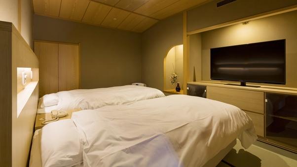 【禁煙】西館6階二間(12.5畳+副室ベッド付)【R62】