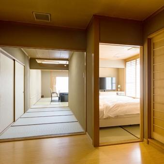 西館・6階二間(12.5畳+6畳<ツインベッド>)【R62】