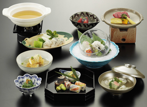 【日帰り】ご夕食休憩部屋食プラン「選べる懐石でのご夕食」