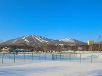 冬の安比高原 快晴2