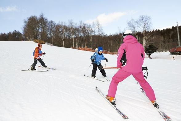 【レッスン6時間付!】初心者〜上級者まで★ガッチリ滑れるスキー・スノボプラン<一泊二食付>