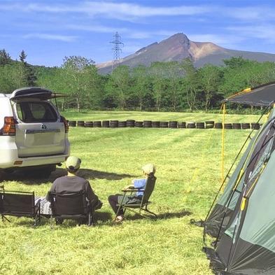 【第1キャンプ場】ご家族★お仲間と自然に囲まれ楽しく♪駒ヶ岳を眺めながらキャンプ♪<素泊まり>