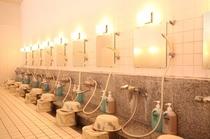 美肌湯温泉 洗い場