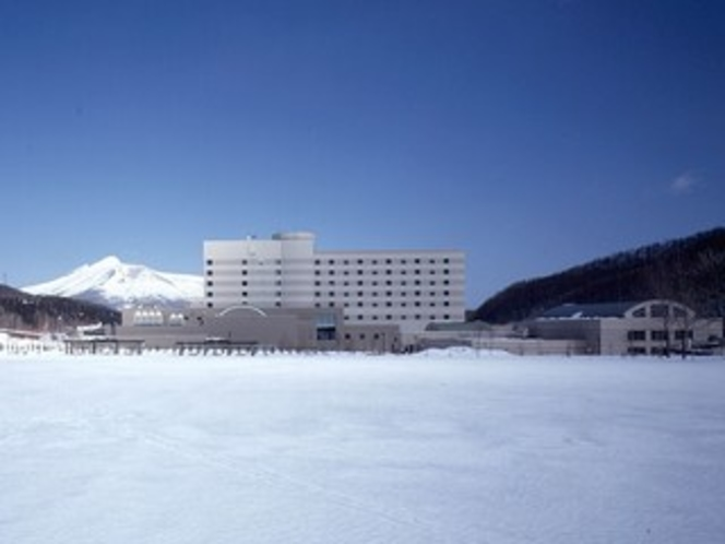 ホテル全景(冬)