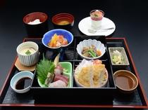 南砺御膳(一階レストラン芝井川メニュー)