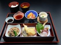 味箱御膳(一階レストラン芝井川メニュー)
