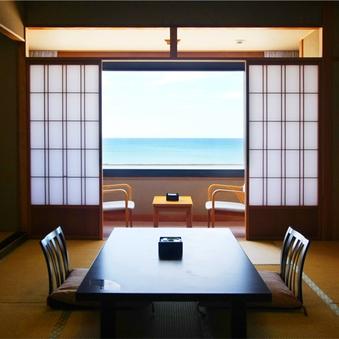 【展望レストラン】海眺めゆったり和室10〜14畳