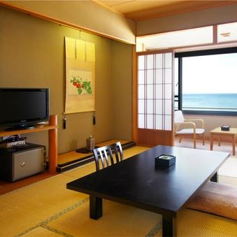のんびり和室【オーシャンビュー】10〜14畳