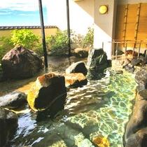 *【露天風呂】日本海の風を感じながら、寛ぎのひと時をお楽しみください!