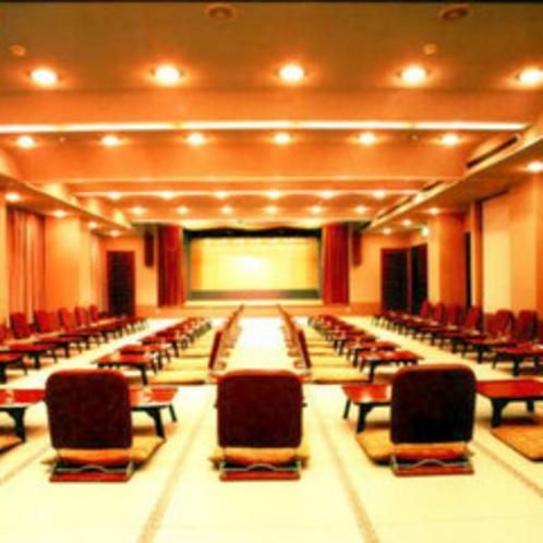 *宴会場/忘新年会や歓送迎会など、各種宴会も承ります。