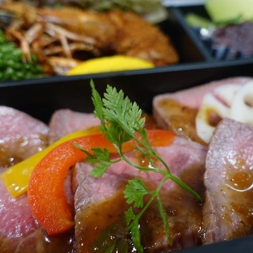 ◇山形牛ローストビーフと庄内の味覚満喫弁当◇
