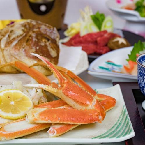 *お食事一例/日本海の恵みをご堪能頂けるお食事をご用意致します。