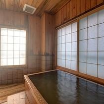 *【貸切風呂】飛騨のひのき職人が作り上げた自慢のお風呂。