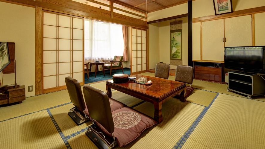 *【客室一例(和室10畳)】広々とした畳のお部屋でリラックス♪