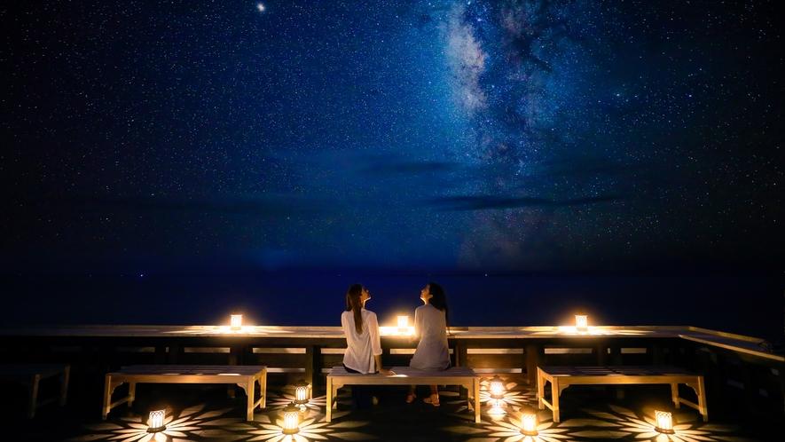 ファシリティ:海カフェ(屋上)