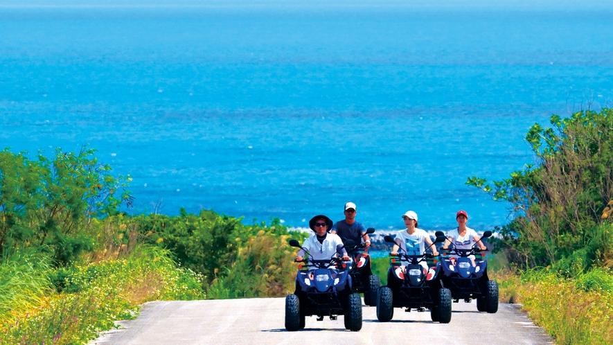 アクティビティ:小浜島バギーツアー