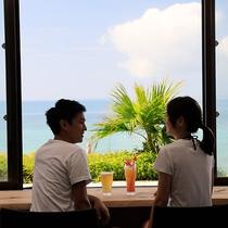 食事:海カフェ