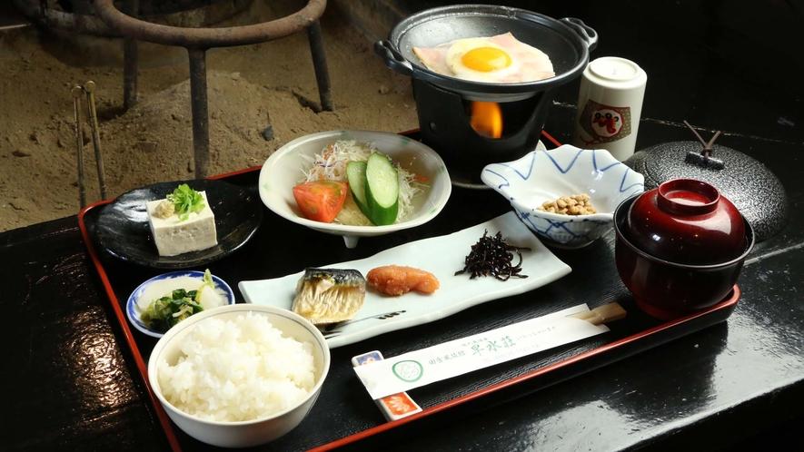 早水荘 朝食