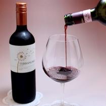 お食事に合わせてワインもご一緒にいかがですか?