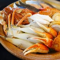 【海鮮鍋】5種類からお好きなメニューを事前にお選びください